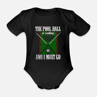 Poolbillard Pool Billard Poolbillard - Baby Bio Kurzarmbody