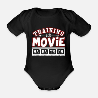 Movie Fans movie fans - Organic Short-Sleeved Baby Bodysuit