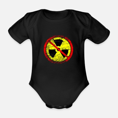 Castor Transport Anti nuclear power nuclear power plants nuclear waste nuclear energy - Organic Short-Sleeved Baby Bodysuit