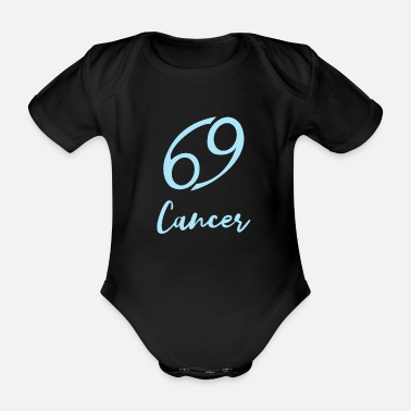 Constellation Zodiac Cancer Astrology Cancer Gift - Organic Short-Sleeved Baby Bodysuit