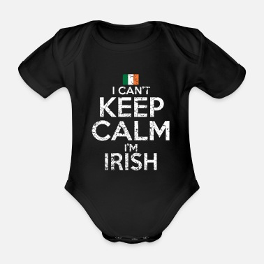 Funny Irish Ireland Irish Funny - Organic Short-Sleeved Baby Bodysuit