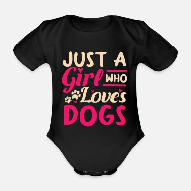 Owner Dogs owner owner - Organic Short-Sleeved Baby Bodysuit