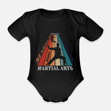Martial Martial Arts | martial Arts - Organic Short-Sleeved Baby Bodysuit