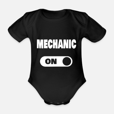 mechaniker - Baby Bio Kurzarmbody