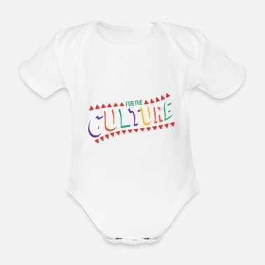 Culture For the culture - Organic Short-Sleeved Baby Bodysuit