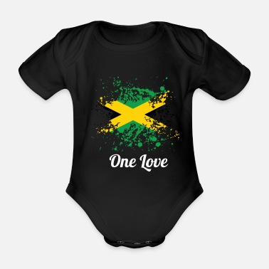 Marley T-Shirt One Love Marley Tribute - Body neonato a manica corta