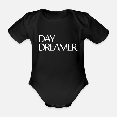 Vibe DAY DREAMER BEAUTIUFL AND STYLISH IDEA - Organic Short-Sleeved Baby Bodysuit