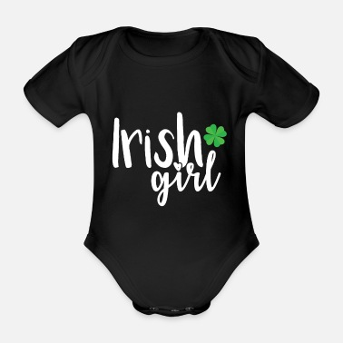 Irish Girls Irish Girl - Organic Short-Sleeved Baby Bodysuit