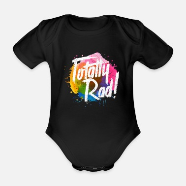 80s 80 - Organic Short-Sleeved Baby Bodysuit
