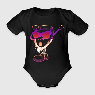 Dab Pizza Gift Dabbing Love Cool Swag Dabb - Organic Short-sleeved Baby Bodysuit