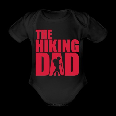 The Hiking Dad - Walking Papa Wandern Daddy - Baby Bio-Kurzarm-Body