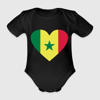 2541614 14655586 Senegal - Organic Short-sleeved Baby Bodysuit