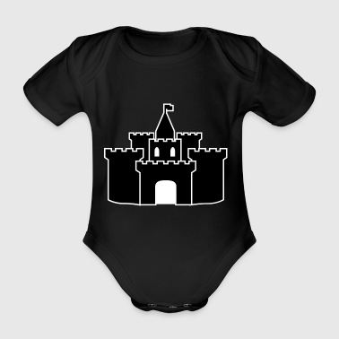 lock - Organic Short-sleeved Baby Bodysuit