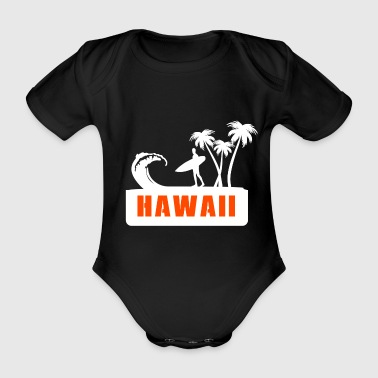 Hawaii - Organic Short-sleeved Baby Bodysuit
