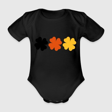 2541614 14912606 Germany - Organic Short-sleeved Baby Bodysuit