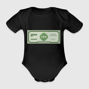 Hundred Dollar - Organic Short-sleeved Baby Bodysuit