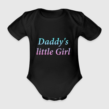 Daddy Little Girl - Økologisk kortermet baby-body