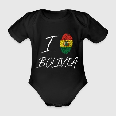 I love Bolivia - Organic Short-sleeved Baby Bodysuit