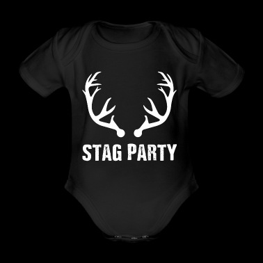 Best Grunge Bachelor's Stag Party T-shirt - Organic Short-sleeved Baby Bodysuit