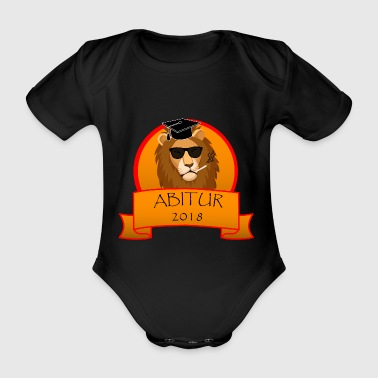 ABITURE 2018 - Organic Short-sleeved Baby Bodysuit
