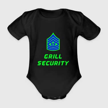 Grill Security - Organic Short-sleeved Baby Bodysuit