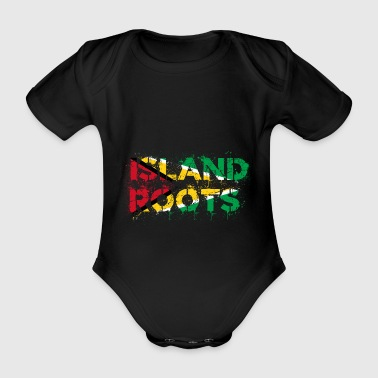 Guyana roots - Organic Short-sleeved Baby Bodysuit