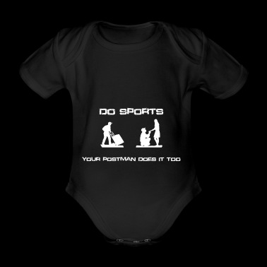 DO SPORTS - Organic Short-sleeved Baby Bodysuit