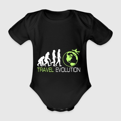 Travel Travel Holiday Vacation Backpacker Gift - Organic Short-sleeved Baby Bodysuit