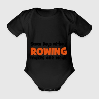 Rowing 2541614 15599463 - Organic Short-sleeved Baby Bodysuit
