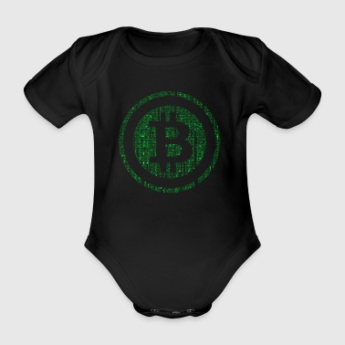 bitcoinhacker - Baby Bio-Kurzarm-Body