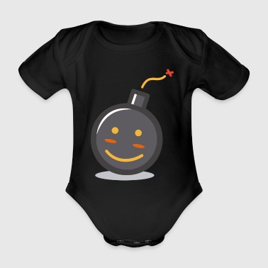 It's the bomb - Organic Short-sleeved Baby Bodysuit
