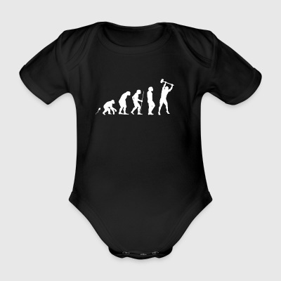Worker Stemm Hammer Suggestion hammer - Organic Short-sleeved Baby Bodysuit