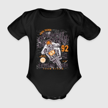 Pedal pusher - Organic Short-sleeved Baby Bodysuit