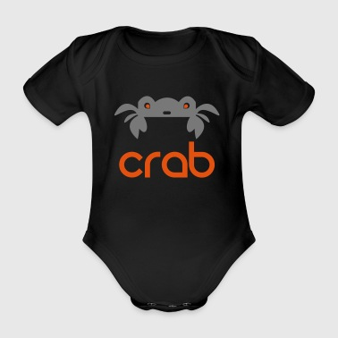 CRAB = CRAB - Organic Short-sleeved Baby Bodysuit