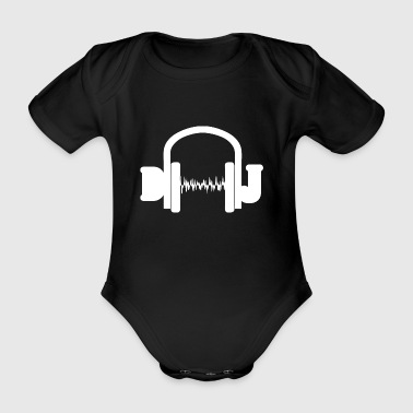 Dj wite - Organic Short-sleeved Baby Bodysuit