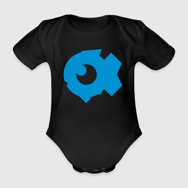 BubbleFish brand - Organic Short-sleeved Baby Bodysuit