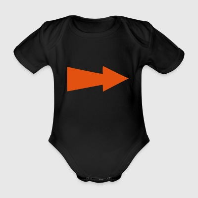 6061912 118915853 Arrows - Organic Short-sleeved Baby Bodysuit