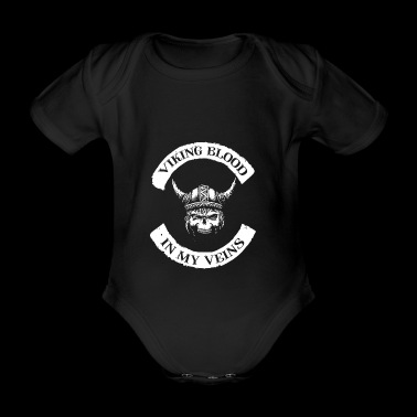 Viking Blood / Viking blood - Organic Short-sleeved Baby Bodysuit