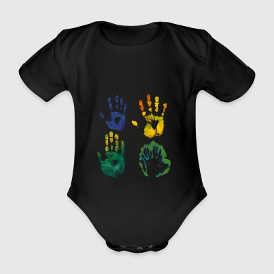 Humanity - Organic Short-sleeved Baby Bodysuit