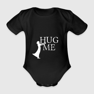 Free Hugs? - Organic Short-sleeved Baby Bodysuit