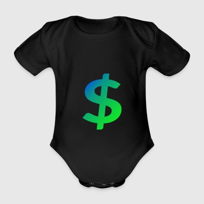 Cash master - Organic Short-sleeved Baby Bodysuit