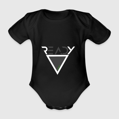 READY - Organic Short-sleeved Baby Bodysuit