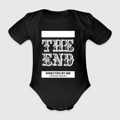 Theendmovie wite - Organic Short-sleeved Baby Bodysuit