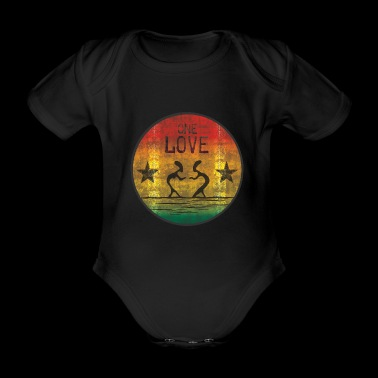 one love reggae - Baby Bio-Kurzarm-Body