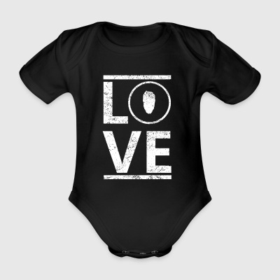 love love calling hobby king master Bart beard - Organic Short-sleeved Baby Bodysuit
