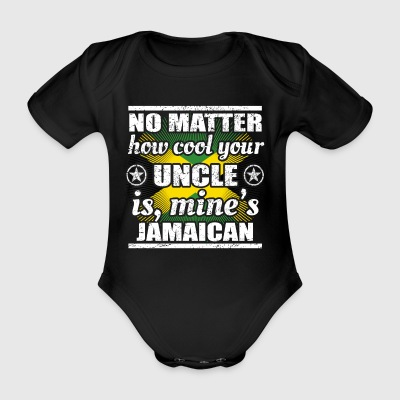 no matter cool uncle uncle gift Jamaica png - Organic Short-sleeved Baby Bodysuit