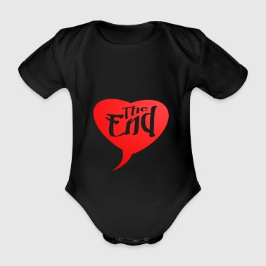 2541614 14947212 the end - Organic Short-sleeved Baby Bodysuit