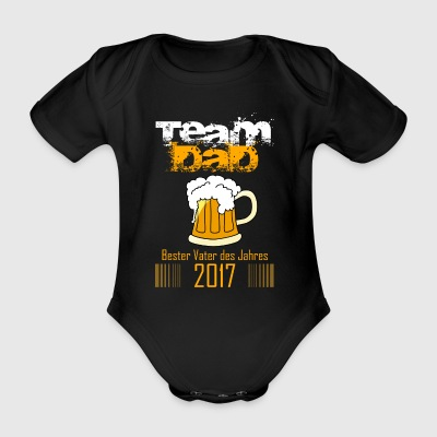 Team Dad - Baby Bio-Kurzarm-Body