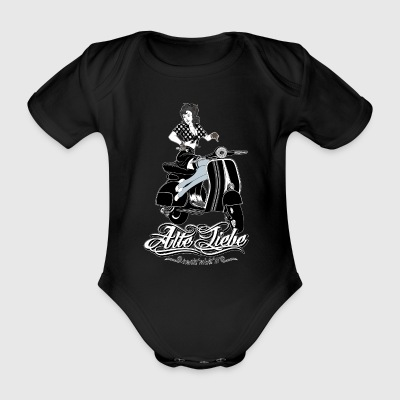 PinUp - Organic Short-sleeved Baby Bodysuit