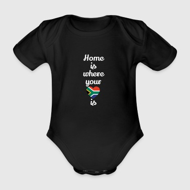 gift home heart love love South Africa - Organic Short-sleeved Baby Bodysuit